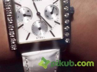 Jam Tangan Guess Leather Original USA