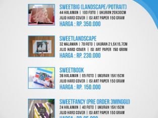 PhotoBook Collection (album foto berdesign majalah)