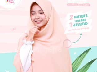 Khimar Khansa Light Peach