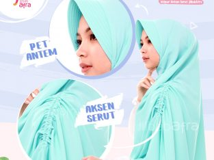 Khimar Khansa Green Mint