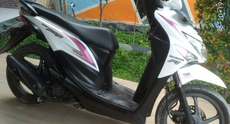 Jual motor Beat pop 2015