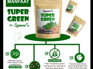 SUPER FOOD,SeperGreen Smoothies Power 200Gram