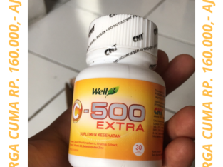 WELL 3 C-500 EXTRA CNI ISI 30 TABLET VITAMIN C