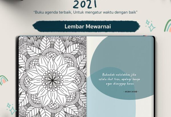 PLANNER BOOK 2021 by RA PLANNER