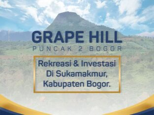 Kavling Grape Hill Puncak 2