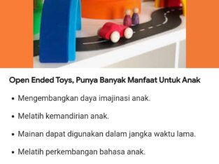 Open Ended Toys